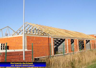Konstrukcja dachu - hurtownia