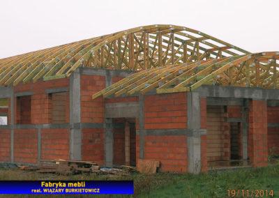 Łukowy dach - hala produkcyjna